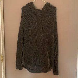 Gapbody long hooded sweater